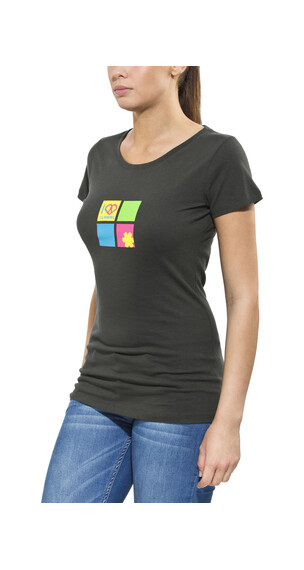 Ocun Pop Art Love - Camiseta manga corta - negro